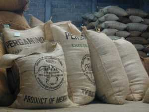 coffee (bags of coffee beans for Mexico coffee brands)