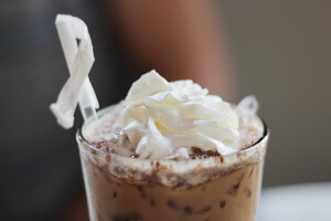 Cafi Coco (Iced coconut coffee)