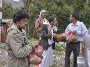 Buying Khat, Yemen