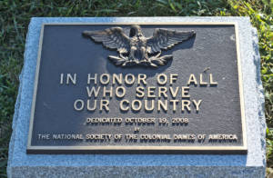 plaque - Spanish-American War Memorial - Arlington National Cemetery - 2013-08-24
