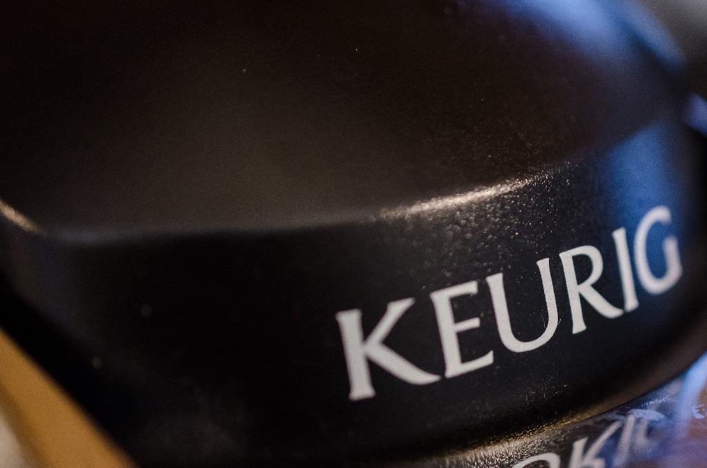 Keurig coffee machine macro