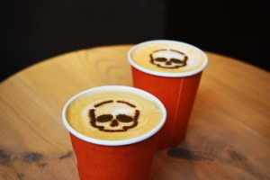 Coffee Art, Halloween, Coffee Takeaway